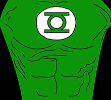 Green Lantern's Chest by Raccoon-god