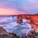 12 Apostles at Sunset II by Ray Warren