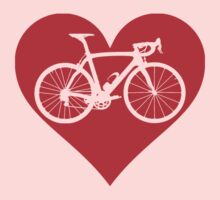 Bike Heart (Red) (Big) by sher00