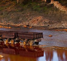 abandoned mineral wagons by paulrommer