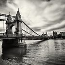 Hammersmith Bridge by Adrian Harvey