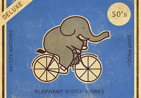 Elephant Match Works  by Terry  Fan