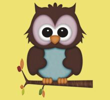 Mrs Owl .. tee shirt Kids Clothes