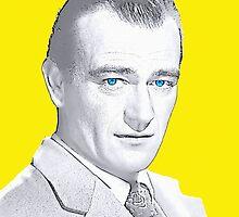John Wayne by Art Cinema Gallery