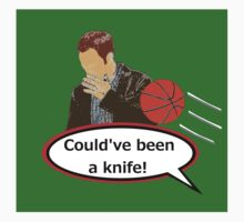 Could've Been a Knife! sticker alternative by REDROCKETDINER
