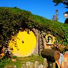 Sam and Rosie's home - Hobbiton, New Zealand by Nicola Barnard