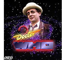 Doctor Who 50th Anniversary - Seventh Doctor Photographic Print