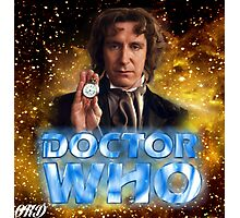 Doctor Who 50th Anniversary - Eighth Doctor Photographic Print