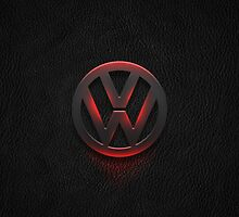 Volkswagen logo hot metal by TheGearbox