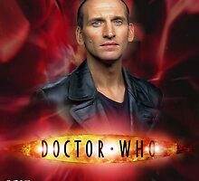 Doctor Who 50th Anniversary - Ninth Doctor by Oliver Kidsley