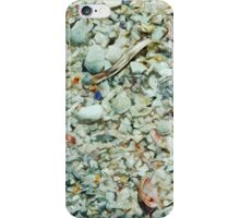 Shells Becoming Sand Abstract Impressionism iPhone Case/Skin