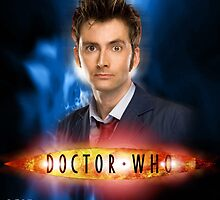 Doctor Who 50th Anniversary - Tenth Doctor by Oliver Kidsley