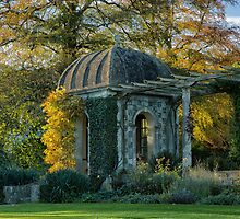 Gazebo in the evening light by Judi Lion