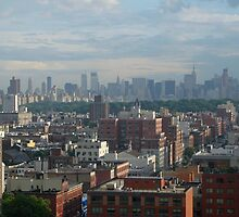 Skyline View from Harlem by PazsNYMinute