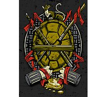 Turtle Family Crest Photographic Print