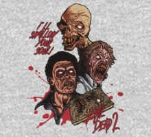 Evil Dead 2: Dead by Dawn - Artwork - I'll Swallow your soul! T-Shirt
