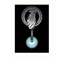 Hand of the 10th Time Lord Art Print
