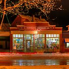 HDR Moffett's Hardware Winter Sussex Night by Jamie Roach