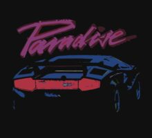 80s Car T-shirt by Nasherr