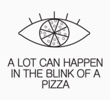 Blink of a Pizza - Black Eye by ahagen