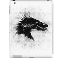 Desolation is Coming iPad Case/Skin