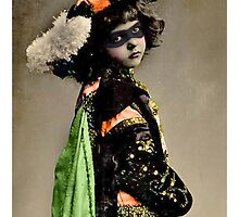 Masked Girl by Lisa Vollrath