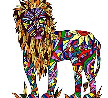 Lion by Deb Coats