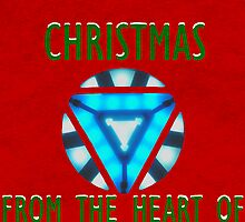 Christmas from Tony Stark by woodian