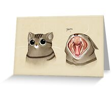 Big mouth Greeting Card