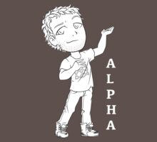 The Alpha- White by lovedly