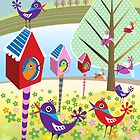 Bird Chatter by Margaret Krajnc
