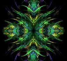 Raw fractal4 by Manafold Art