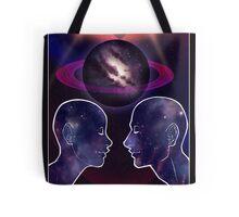 """The Lovers"" Tarot Card Shirt (Saturn!) Tote Bag"