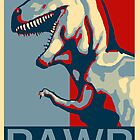 RAWR! American TREX Hope Spoof by strayfoto