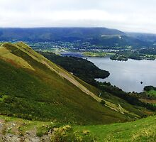 Catbells, Keswick and Derwent Water by GeorgeOne