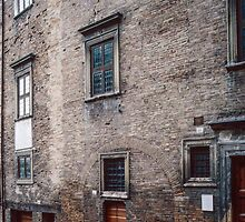 House where Raphael was born in Urbino Italy 198404130004  by Fred Mitchell