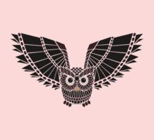 The Great Geometric Owl Kids Clothes