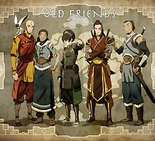 Old Friends Avatar The Last Airbender by MarioGirl64