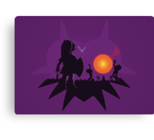 Dawn of the Final Day (Majoras Mask) Canvas Print