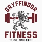 Gryffindor Fitness Tshirt by printproxy