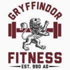 Gryffindor Fitness Tshirt by Six 3