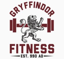 Gryffindor Fitness Tshirt Kids Clothes