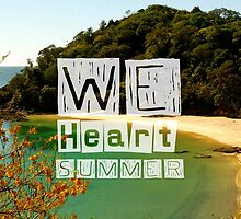 WeHeartSummer - NZ Phone Case by haewee