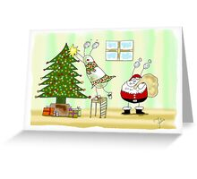 Sally and Dave - A Slug Christmas Greeting Card