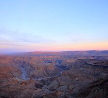 Canyon Dawn I by JenniferEllen
