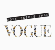More Issues Than Vogue- Daisies  by Olga Perelman