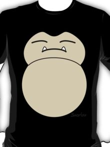 game faces: snorlax T-Shirt