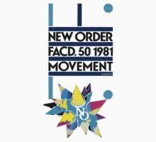 New Order Movement Shirt by Shaina Karasik