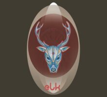 blue bull elk. by resonanteye
