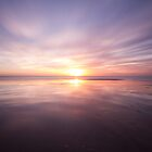Sunset at Birling gap, East Sussex by willgudgeon